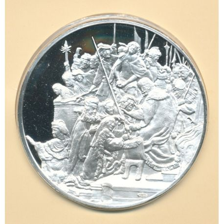 Trésors de Rembrandt - Médaille N°39 - Jésus devant pilate - argent