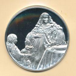 Trésors de Rembrandt - Médaille N°35 - Sophonisbe - argent