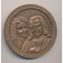 Médaille - Loisel et Gauthier - Notariat Français - bronze