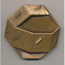 Médaille - Caisse des dépôts et consignations - Michel - bronze