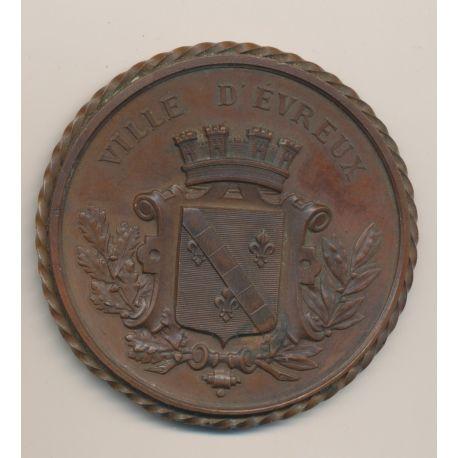 Médaille - Concours régional de 1886 - Évreux - bronze