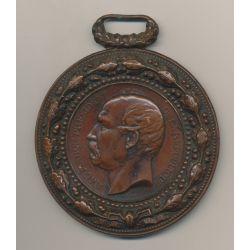 Médaille - Président Mac-Mahon - bronze - 77mm