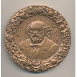 Médaille - Paul Cézanne - Aix en provence