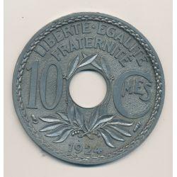 Sous-bock 105mm - 10 Centimes lindauer - 1924