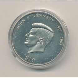 Libéria - 10 Dollars 2000 - John F Kennedy