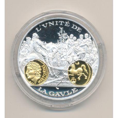 Médaille  - Vercingétorix - Statère- 2000 ans d'histoire monétaire Français