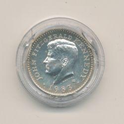 Médaille - John F.Kennedy - argent - 1983 -
