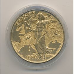 Ecu EUROPA - 1990 - bronze