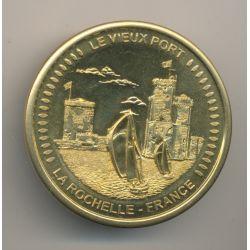 Médaille - Le vieux port - la rochelle - collection européenne