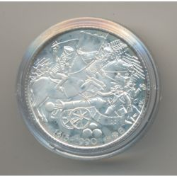 Médaille - Waterloo - 1815-1990 - argent