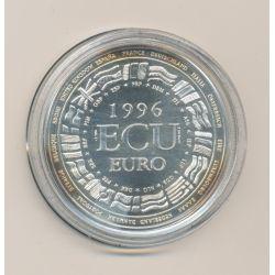 Ecu EUROPA - 1996 - argent