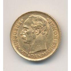 Danemark - 10 Kroner 1908 - Frédéric VIII