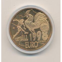 10 Euro essai - Football 1998 - bronze