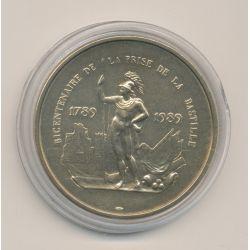 Médaille - Bicentenaire Prise de la bastille - bronze - 1983 - 41mm