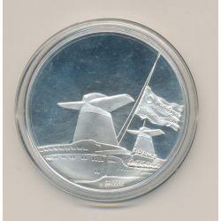 Médaille - France 1962 - Paquebots Transatlantiques - argent 40g