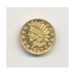 Etats-Unis - Token California gold 1853