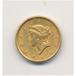 Etats-Unis - 1 Dollar 1851 Philadelphie - Liberty head