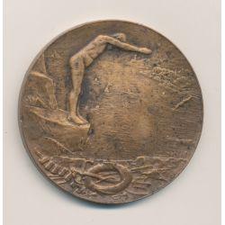Médaille - Bain Lillois - 1903 - bronze