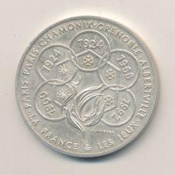 Médaille - La France et les Jeux - argent - Jimenez