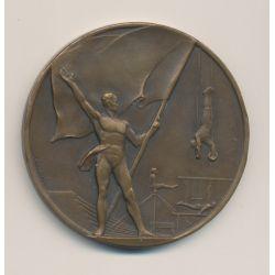 Médaille - A la gloire du sport - bronze - Fraisse
