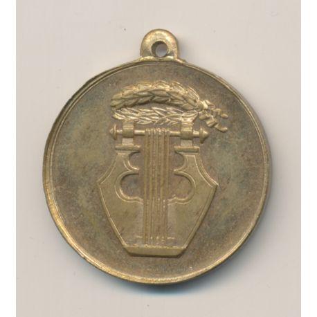 Médaille - Souvenir concours de musique - Rumilly - 1877 - laiton