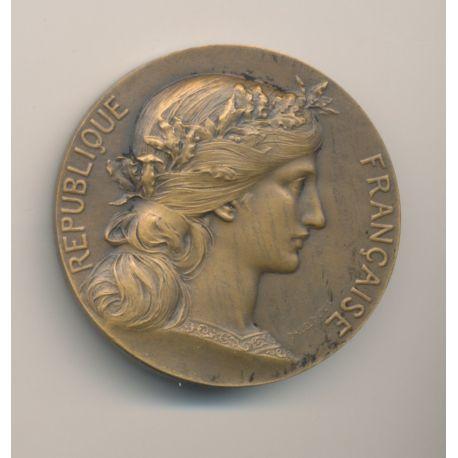 Médaille - Ville de Bordeaux - République Française - bronze - H.Dubois
