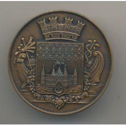 Médaille - Hospices civils - Bordeaux - 1944 - bronze - A.Gerbier