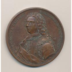 Médaille - Comte de Lautrec - 1738 - bronze