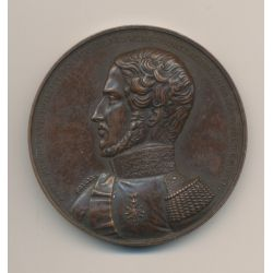 Médaille - Ferdinand Philippe - 1810 - cuivre - 52mm - F.Caque