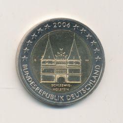 2€ Allemagne 2006 - Schleswig-Holstein