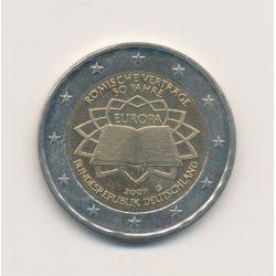 2€ Allemagne 2007 - Traité de Rome