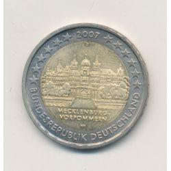 2€ Allemagne 2007 - Mecklenburg-vorpommern
