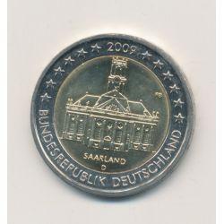 2€ Allemagne 2009 - Saarland