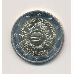 2€ Allemagne 2012 - 10 ans de l'euro