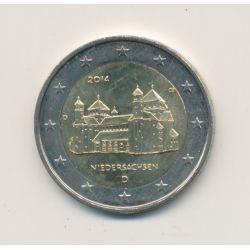 2€ Allemagne 2014 - Niedersachsen