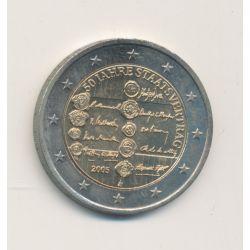 2€ Autriche 2005 - 50e anniversaire Traité d'Etat autrichien