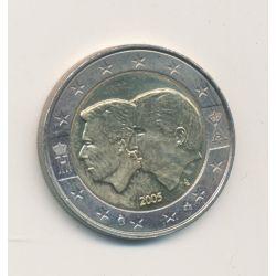 2 Euro Belgique 2005 - Anniversaire de Union économique Belgo-Luxembourgeoise