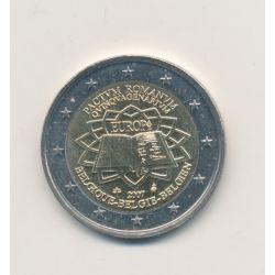 2 Euro Belgique 2007 - Traité de Rome