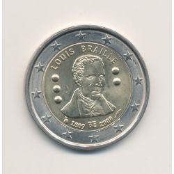 2 Euro Belgique 2009 - Louis Braille