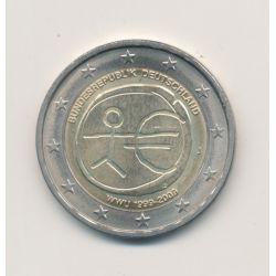 2 Euro Belgique 2009 - 10e anniversaire UEM