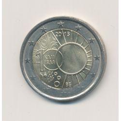 2 Euro Belgique 2013 - 100 ans Institut Royal Météorologique