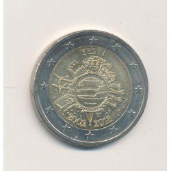 2€ Estonie 2012 - 10 ans de l'euro