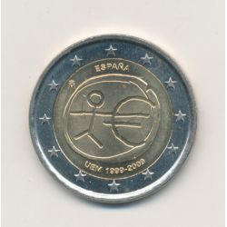 2€ Espagne 2009 - 10e anniversaire UEM