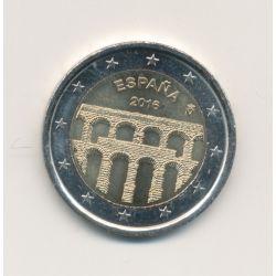 2€ Espagne 2016 - aqueduc de Ségovie