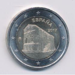 2€ Espagne 2017
