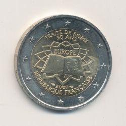 2€ France 2007 - Traité de Rome