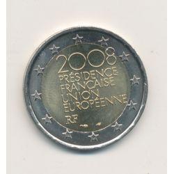 2€ France 2008 - Présidence union européenne
