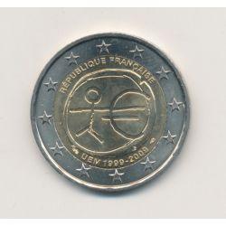 2€ France 2009 - 10e anniversaire UEM
