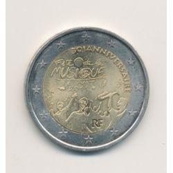 2€ France 2011 - 30e anniversaire Fête de la musique