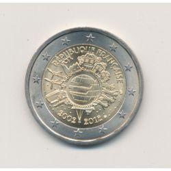 2€ France 2012 - 10 ans de l'euro